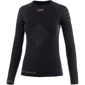 X-Bionic Funktionsshirt Damen schwarz/anthrazit
