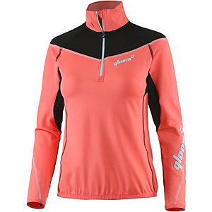 Qloom Zip Mawson Peak Funktionsshirt Damen pink