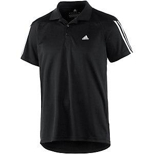 adidas Base 3S Poloshirt Herren schwarz