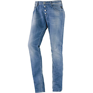 REPLAY Pliar Boyfriend Jeans Damen blue denim