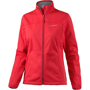 VAUDE Wintry Softshelljacke Damen rot