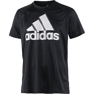 adidas Base Logo Funktionsshirt Herren schwarz