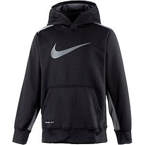 Nike Kapuzenpullover Jungen schwarz