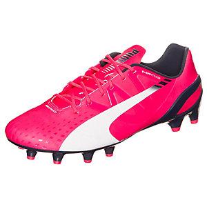 PUMA evoSPEED 1.3 Fußballschuhe Herren pink / weiß