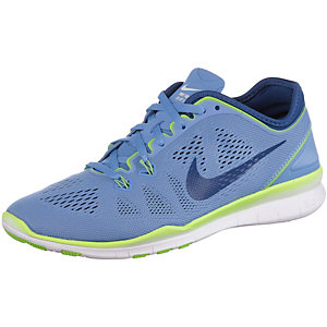Nike Free 5.0 Trainer Fit 5 Laufschuhe Damen hellblau/royal