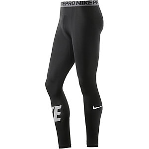 Nike Pro Dry Fit Tights Herren schwarz