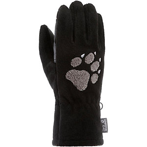 Jack Wolfskin Paw Fleece Handschuhe schwarz