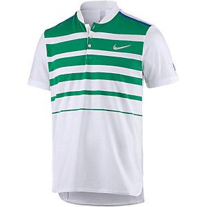 Nike Premier RF Polo Tennis Polo Herren weiß/grün