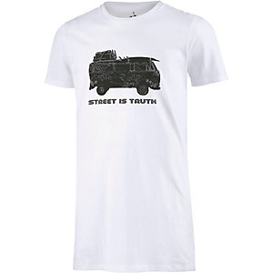 WLD Street is truth Longshirt Herren weiß