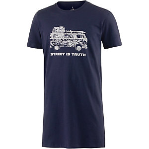 WLD Street is truth Longshirt Herren navy