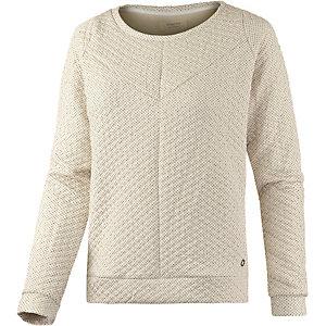 nümph Sweatshirt Damen offwhite