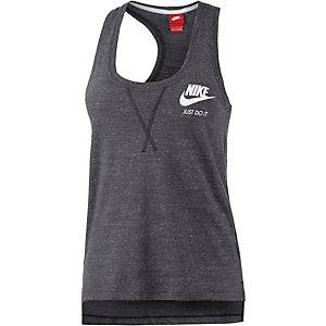 Nike Gym Vintage Tanktop Damen anthrazit