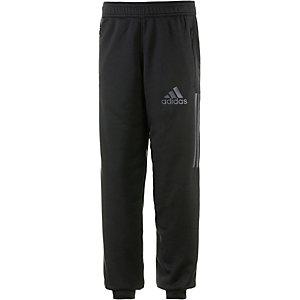 adidas Trainingshose Jungen schwarz/grün