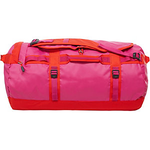 The North Face Base Camp Duffel Reisetasche pink/rot