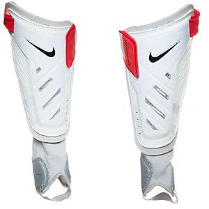 Nike Protegga Shield Schienbeinschoner Herren weiß / rot / schwarz