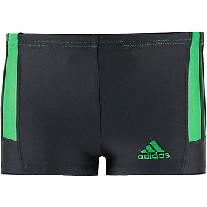 adidas Kastenbadehose Jungen grau/grün
