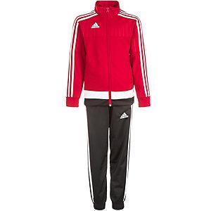 adidas Tiro 15 Trainingsanzug Kinder rot / weiß / schwarz