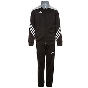 adidas Sereno 14 Trainingsanzug Kinder schwarz / silber