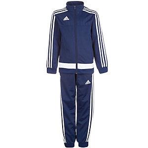 adidas Tiro 15 Trainingsanzug Kinder dunkelblau / weiß