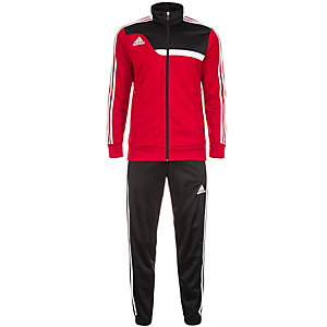 adidas Trainingsanzug Herren rot / schwarz