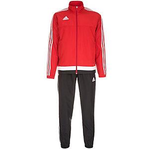 adidas Tiro 15 Trainingsanzug Herren rot / weiß / schwarz
