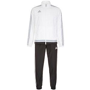 adidas Tiro 15 Trainingsanzug Herren weiß / schwarz