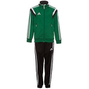 adidas Condivo 14 Trainingsanzug Kinder grün / schwarz