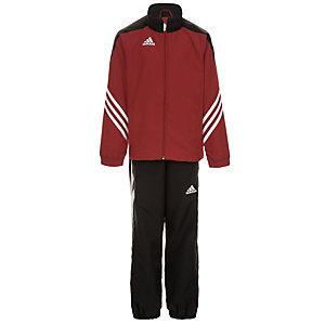 adidas Sereno 14 Trainingsanzug Kinder rot / schwarz / weiß