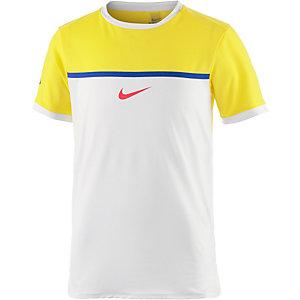 Nike Funktionsshirt Jungen gelb/weiß