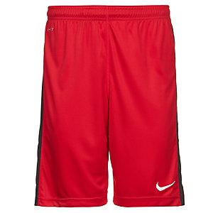 Nike Squad Longer Knit Fußballshorts Herren rot / grau