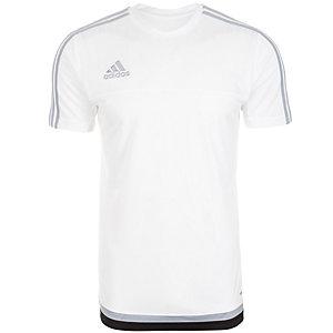 adidas Tiro 15 Funktionsshirt Herren weiß / hellgrau