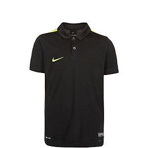 Nike Challenge Fußballtrikot Kinder schwarz / lime