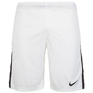 Nike Squad Longer Knit Fußballshorts Herren weiß / schwarz