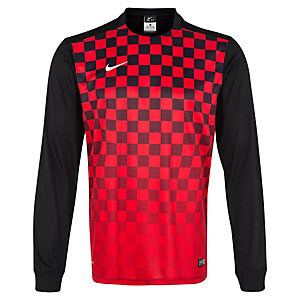Nike Precision III Fußballtrikot Herren rot / schwarz