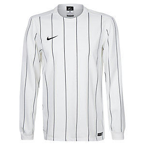 Nike Striped Segment II Fußballtrikot weiß / schwarz