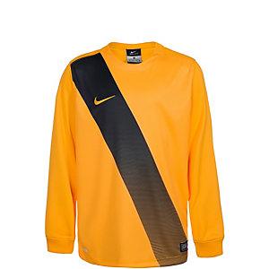 Nike Sash Fußballtrikot Kinder gold / schwarz