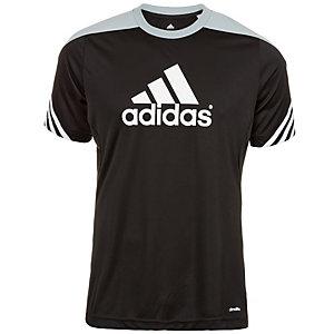 adidas Sereno 14 Funktionsshirt Herren schwarz / silber