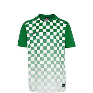 Nike Precision III Fußballtrikot Kinder grün / weiß