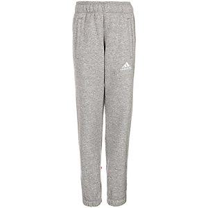 adidas Core 15 Trainingshose Kinder grau / weiß