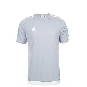 adidas Estro 15 Fußballtrikot Kinder hellgrau / weiß