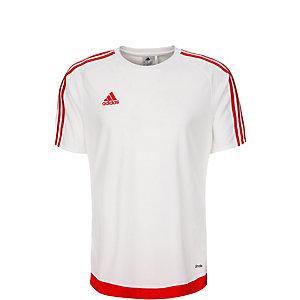 adidas Estro 15 Fußballtrikot Kinder weiß / rot