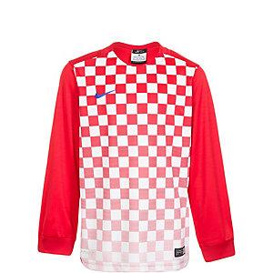 Nike Precision III Fußballtrikot Kinder rot / weiß / blau