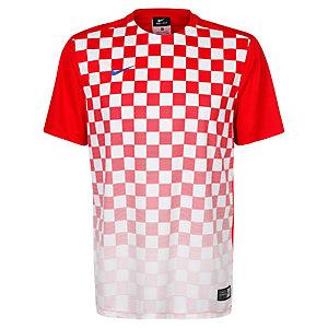 Nike Precision III Fußballtrikot Herren rot / weiß