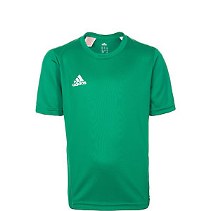 adidas Core 15 Funktionsshirt Kinder grün / weiß