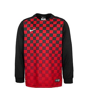 Nike Precision III Fußballtrikot Kinder rot / schwarz