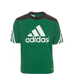 adidas Sereno 14 Funktionsshirt Kinder grün / schwarz