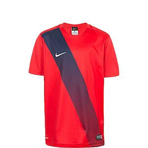 Nike Sash Fußballtrikot Kinder rot / weiß