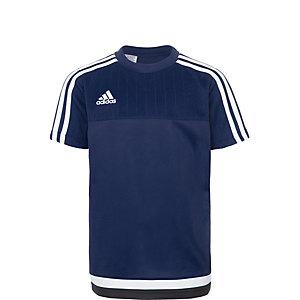 adidas Tiro 15 Funktionsshirt Kinder dunkelblau / weiß