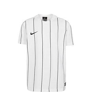 Nike Striped Segment II Fußballtrikot Kinder weiß / schwarz