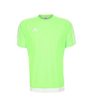 adidas Estro 15 Fußballtrikot Kinder hellgrün / weiß